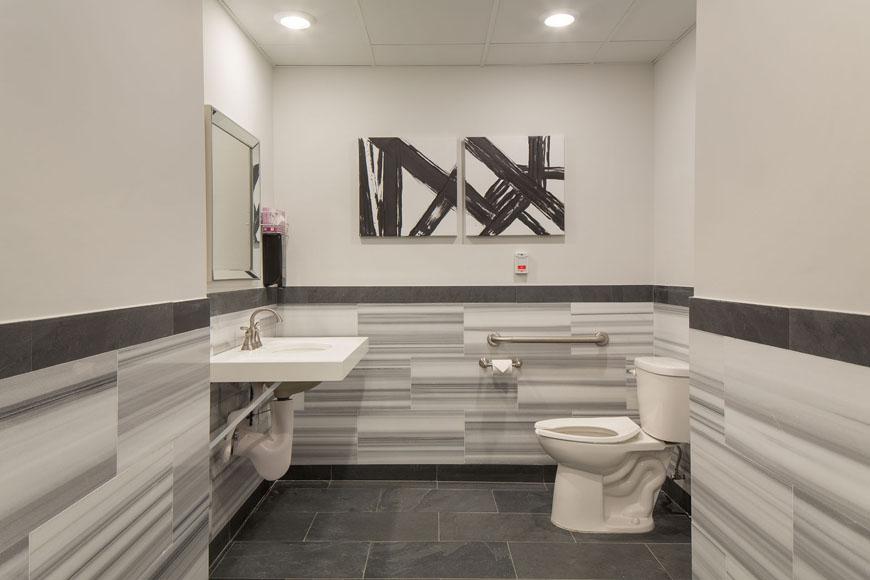 Clean facilities at Surge on Long Island