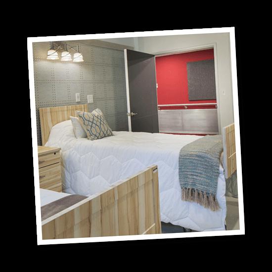 Surge Rehabilitation guest room